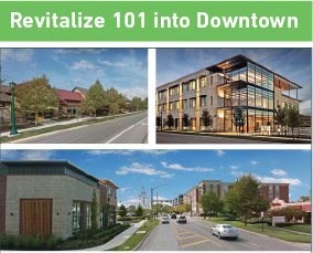 Revitalize 101 into Downtown