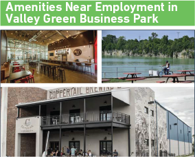 Amenities Near Employment in Valley Green Business Park