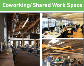 Coworking/Shared Work Space
