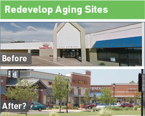 Redevelop Aging Sites